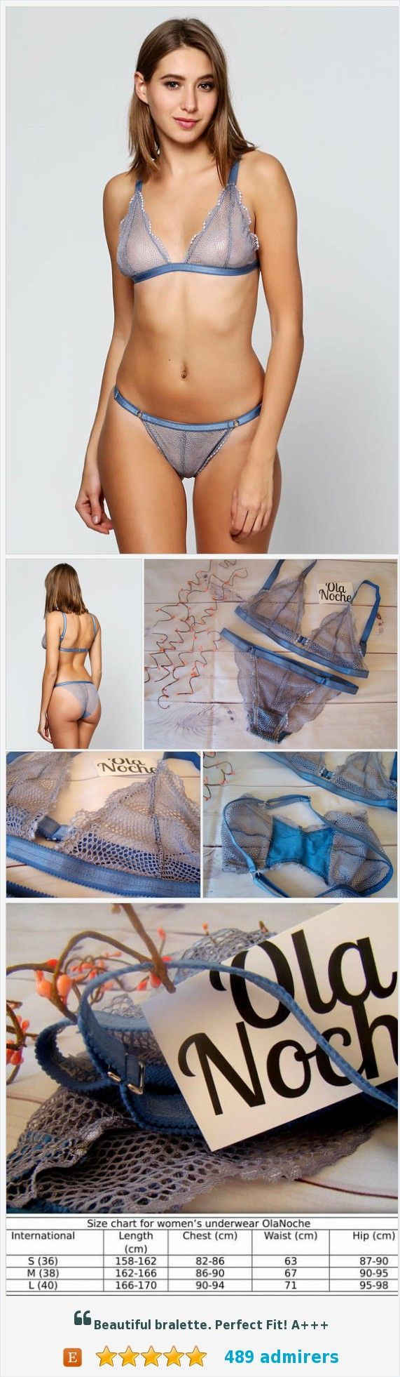 #Florallacebra #Sheernudemesh #Meshlingerie #Gray #OlaNoche https://www.etsy.com/OlaNoche/listing/547526762/floral-lace-bra-panty-set-sheer-nude?ref=shop_home_active_15