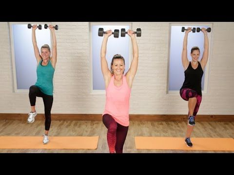 20-Minute Metabolism-Boosting Workout | Class FitSugar - YouTube