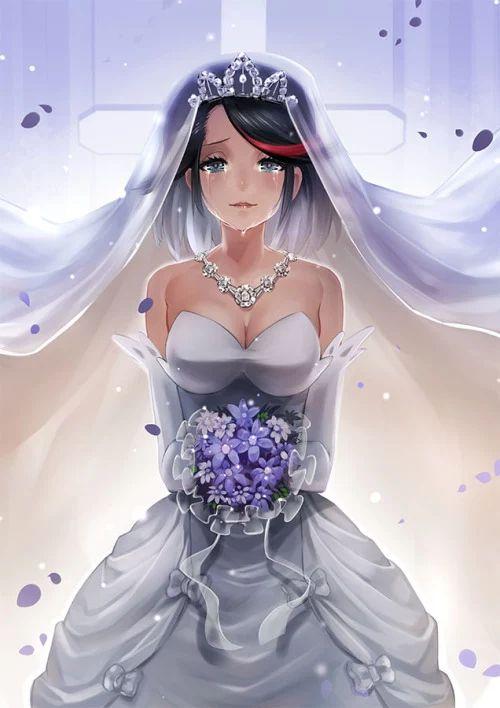 87 Best Anime Wedding Images On Pinterest Anime Wedding Anime - Anime Wedding Dress