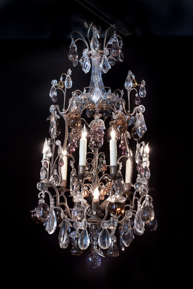 106 best chandeliers images on pinterest crystals crystal french bronze and crystal chandelier aloadofball Images