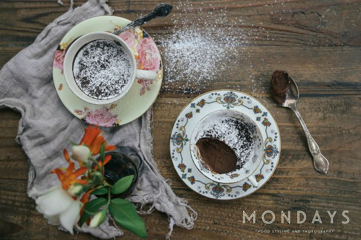 Chocolate Puddings.  We have a passion for creating beautifully rustic photographs of food, health and beauty products.  Share an idea with us, we would love to work with you. Please email info@mondayswholefoods.com