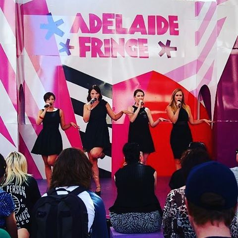 We've got two shows today, #Adelaide! 4:30pm and 7:30pm at The Parlour, @royalcroquetclub. WE WANNA DATE YOU!!!! #ADLfringe #cabaretbitches #desperateanddateless #dataret  Paula McManus