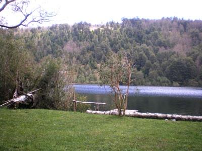 Lago Tinquilco en la casa de la inefable Lucia, Chile