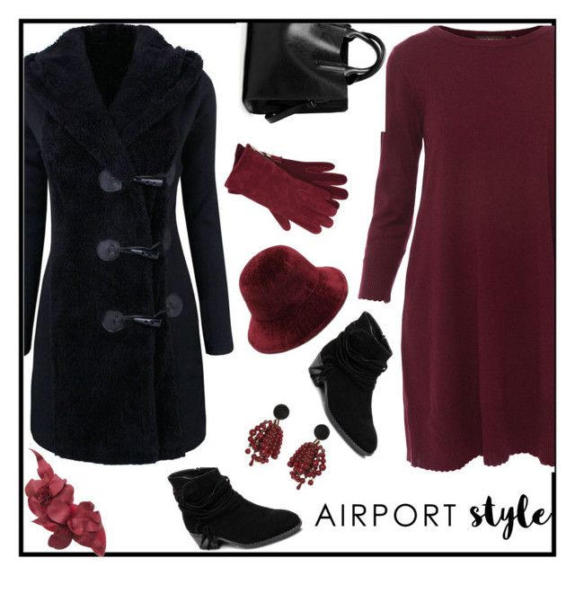 """""""#airport style#gagi273"""" by gagi273 ❤ liked on Polyvore featuring Repeat, Marni, M&Co and contestentry"""