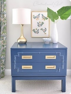 Painted Furniture ~ Blue