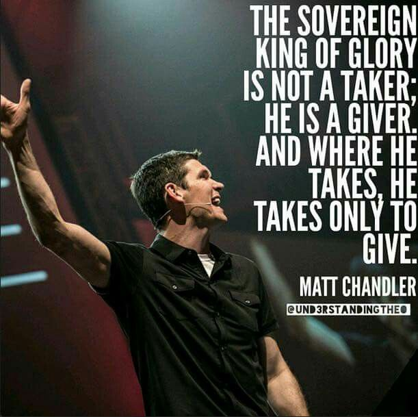 christian quotes | Matt Chandler quotes | grace | God