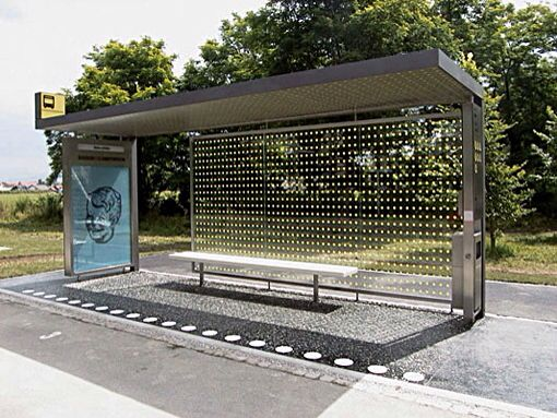 Prototype bus shelter by Bevk Perovic arhitekti, Slovenia. Visit the slowottawa.ca boards >> http://www.pinterest.com/slowottawa/