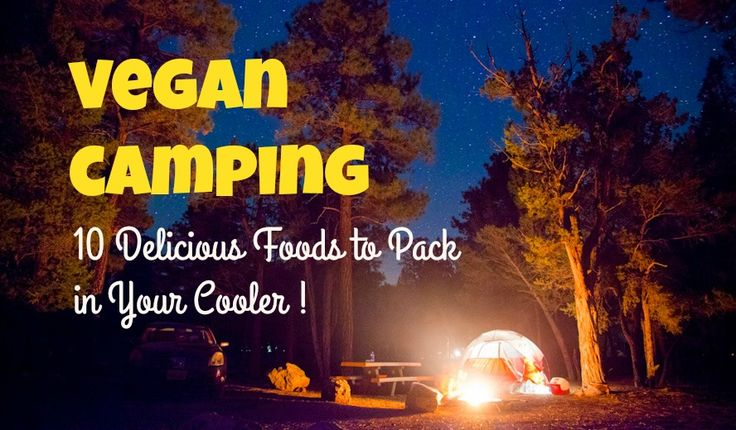 10 Delicious Foods To Pack For Your Vegan Camping Trip - Carrots and Flowers