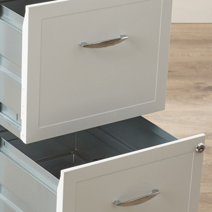 Zipcode™ Design Gigi 2 Drawer Mobile File Cabinet & Reviews | Wayfair