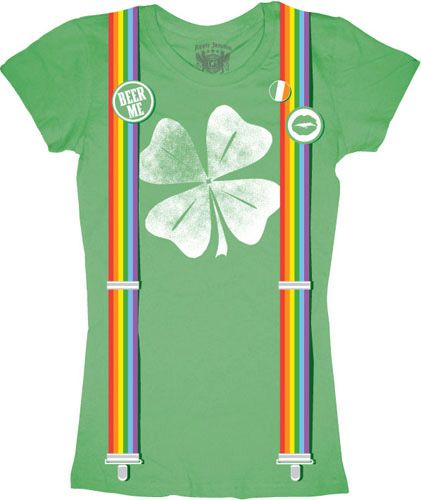 silly st paddy's day shirts :)