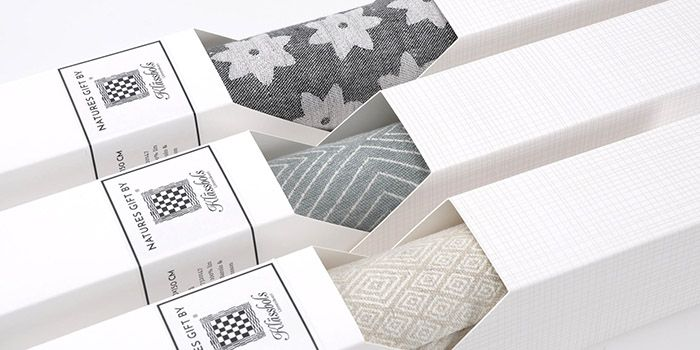 Klässbols is a Swedish design company and they have a special place in Swedish homes. They make products such as tablecloths and towels all in the material