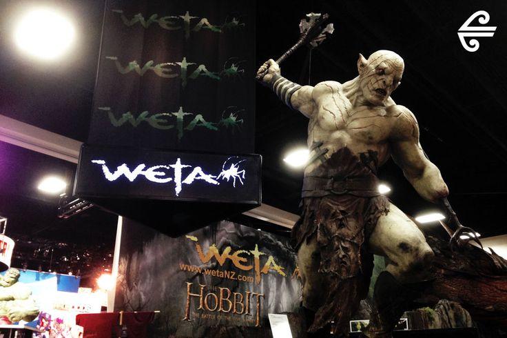 Comic-Con International 2014 #AirNZ #Comic-Con #SanDiego #Weta #AirNZHobbit #Smaug