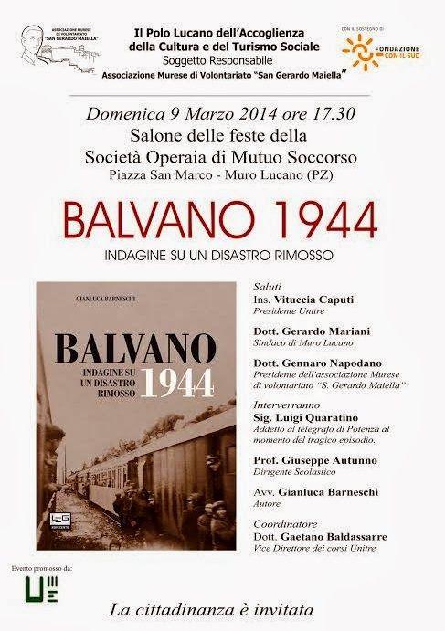 Unitre di Muro Lucano: Domenica 9 marzo 2014 - ore 16.30 - Presentazione ...