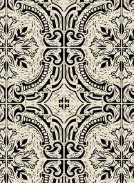 Design Team Fabrics - Barcelona Paris Istanbul - Barcelona Tile