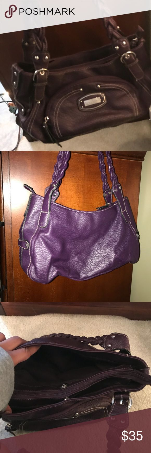 Purple Rossetti New York Handbag Purple Shoulder bag!! Medium in size. Lots of room inside multiple compartments. Price is negotiable Rosetti Bags Shoulder Bags