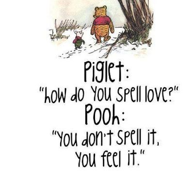 As The Card Rack Turns: My Favorite Winnie The Pooh Quotes.