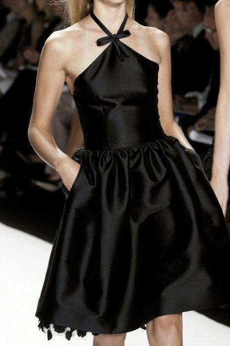full-exposure-fashion: Little Black Dress at Bill Blass