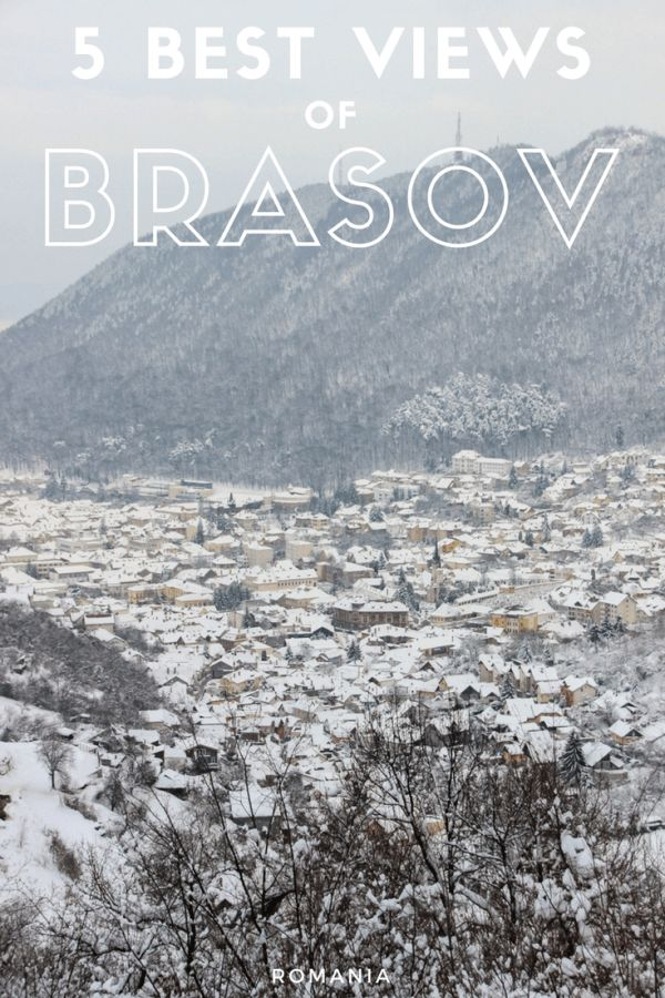 5 Best Views of Brasov | ROMANIA