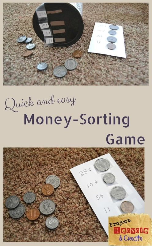 DIY Coin-Sorter Game