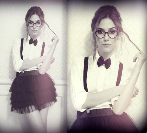 Cute Nerdy costume idea