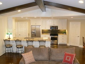 Attractive Open Kitchen And Family Room Design Ideas, Pictures, Remodel And Decor