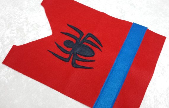 PARTY PACK Spiderman Costume Tunic by TeatotsPartyPlanning on Etsy