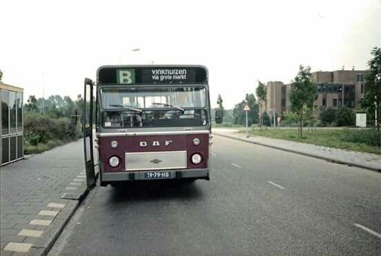 Stadsbus Groningen tussen 1975 en 1991