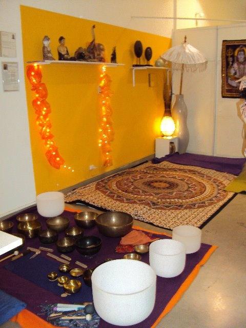 Atheneas, regalería mística. Meditación con cuencos tibetanos
