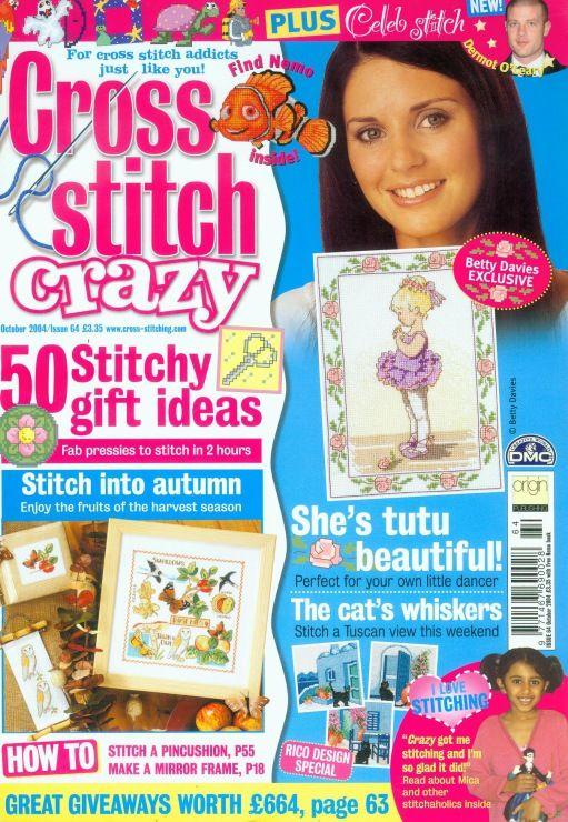 Cross Stitch Crazy №64