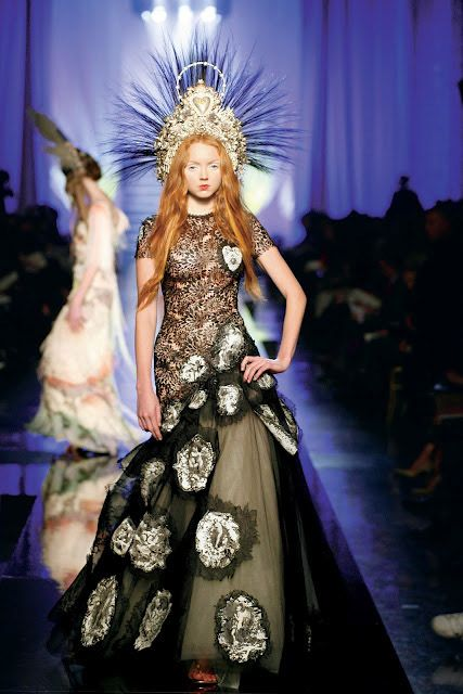 Lily Cole for Vivienne Westwood