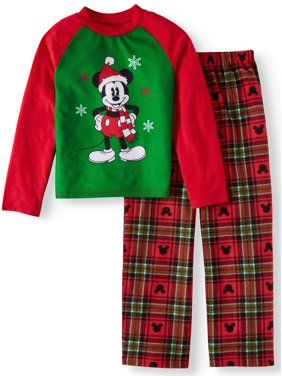 a10d6d3d3 Disney Mickey Mouse Holiday Family Sleep Pajamas