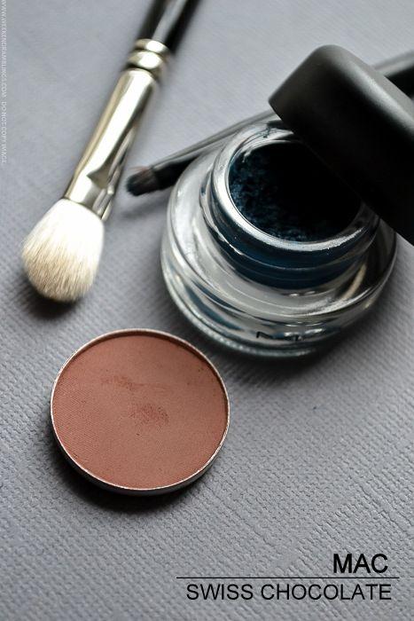 MAC Swiss Chocolate Eyeshadow - Photos, Review