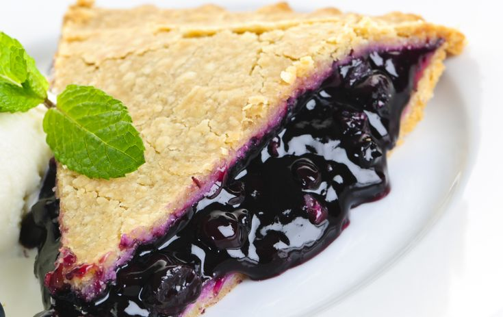 A dessert recipe of black mulberry pie by Victoria Cassar