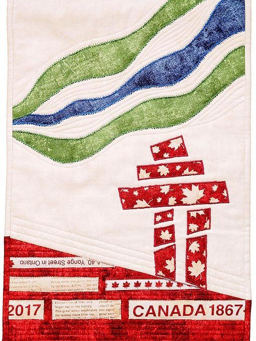 The Canadian Sesquicentennial Quilt Block Party
