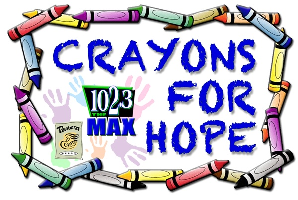 Crayons for hope, to help local school children get back to class!