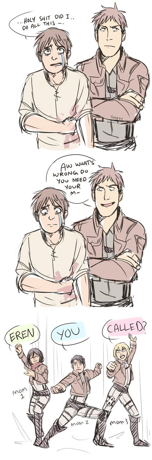 AOT - dying of laughter