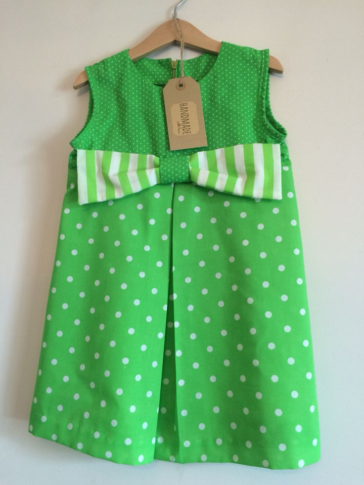 Handmade Kiddy Boutique dress £15.95. Available to order x
