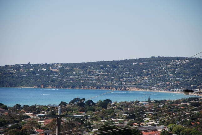 Large holiday home in Dromana with fireplace and views