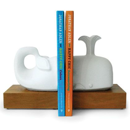 whale bookends / Jonathan Adler