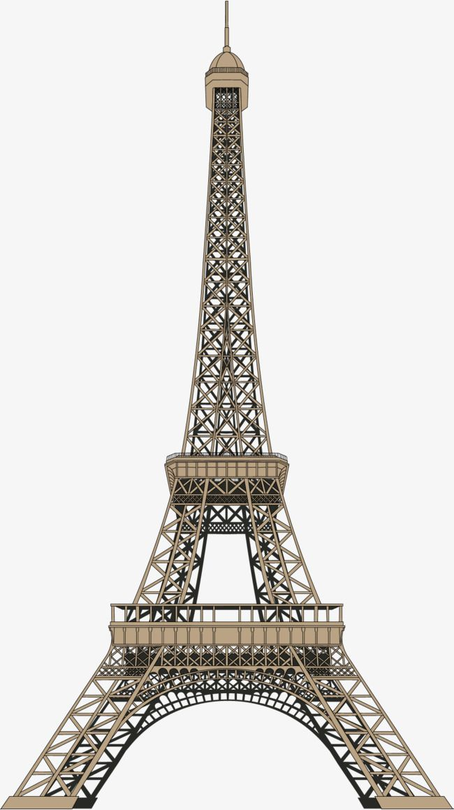 Bronze Tower Png And Vector Tower Eiffel Tower Bronze
