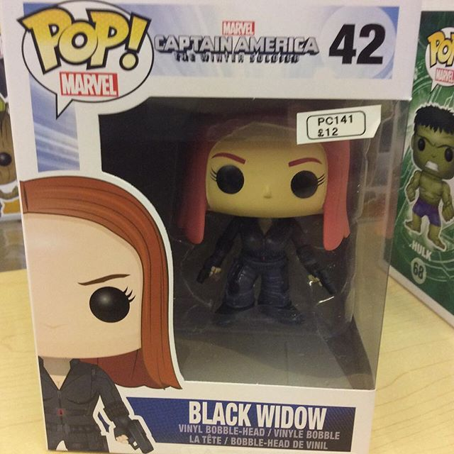 """Captain America Winter Soldier Black Widow funko pop #avengers #ageofultron #marvel  #hulk #funko pop #wintersoldier Like this? I'm selling it on @depopmarket. Search for me: diversions on #depop ✌ "" Photo taken by @diversionsgifts.co.uk on Instagram, pinned via the InstaPin iOS App! http://www.instapinapp.com (07/17/2015)"