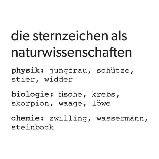 Natur Wissenschaft Widder Löwe Wissen Skorpion Waage Bio