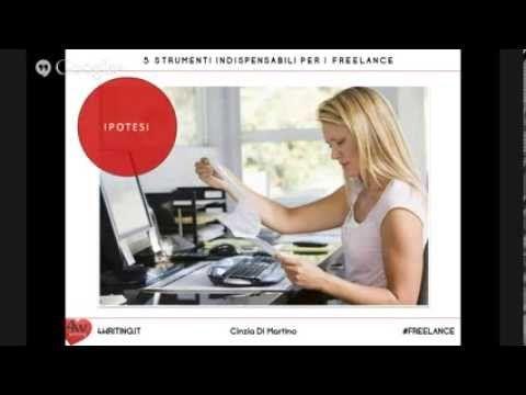 5 strumenti indispensabili per freelance | @cinziadimartino per @4writing