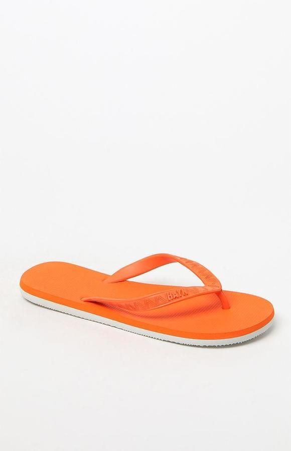 Hayn Passion Orange Flip Flops
