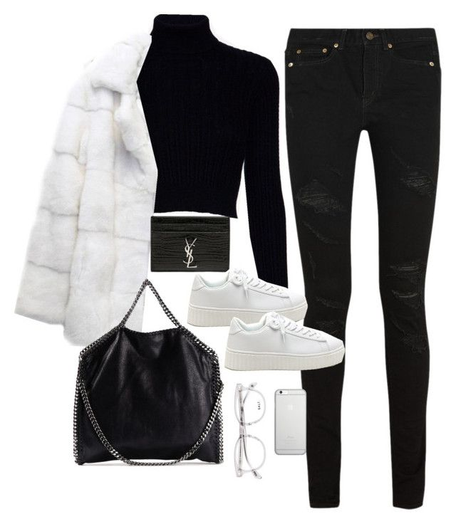 """""""Untitled #2956"""" by theaverageauburn on Polyvore featuring Yves Saint Laurent, Jack Wills, STELLA McCARTNEY and Native Union"""