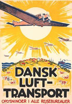 Danish Air Transport, Axel Nygård, ca. 1930
