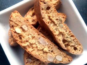 Mandelbiscotti biscotti med mandel