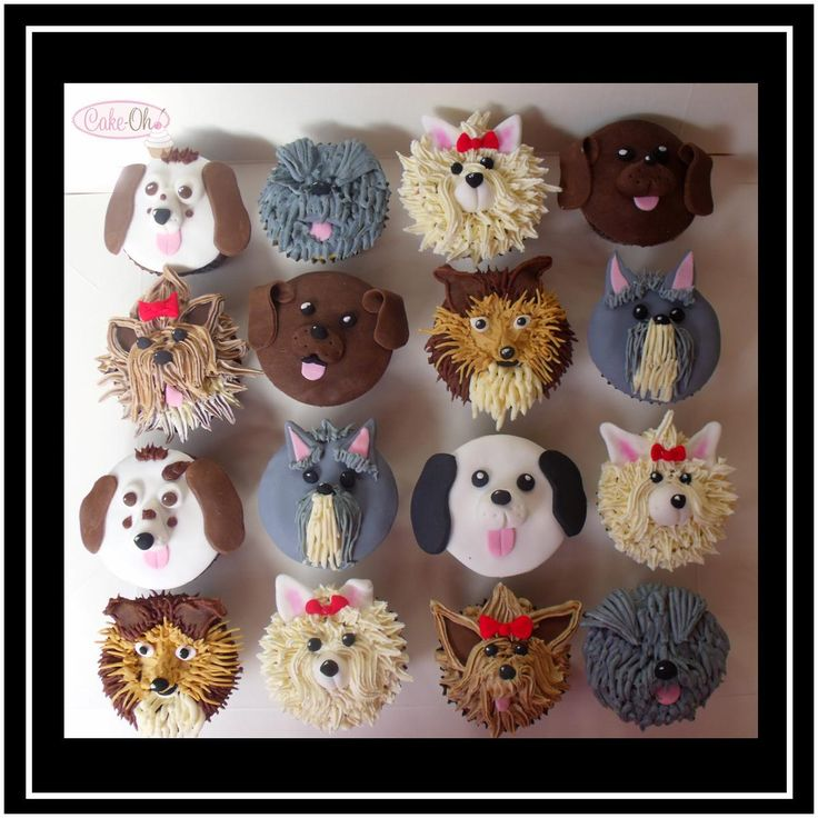 Dog Face Cupcakes - Which one would you choose?