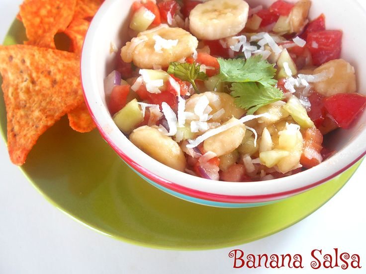 Banana Salsa Recipe - This is a hot salsa recipe made with bananas. There is nothing like fresh tomato salsa recipe