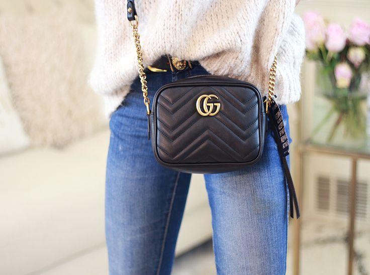 e6cefdbfaabc Gucci GG Marmont small matelassé shoulder bag $ 1,250 Style 447632 DTD1D  5729